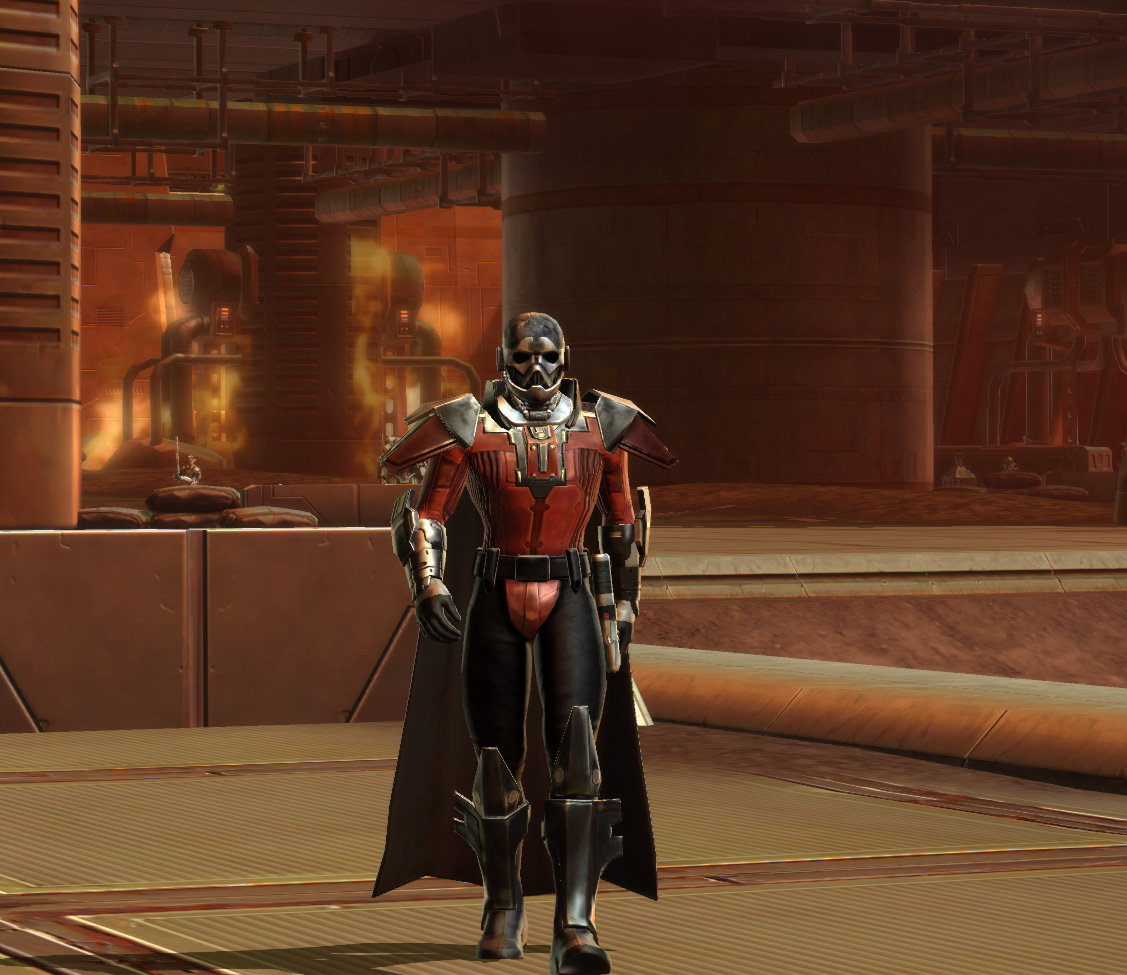 Swtor how to obtain emperors mantle armor set
