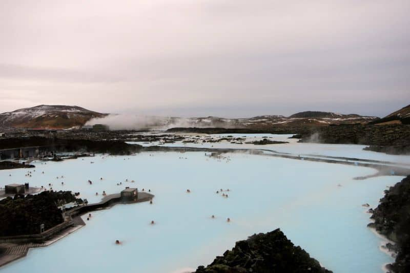 Blue lagoon iceland dont know how to swim