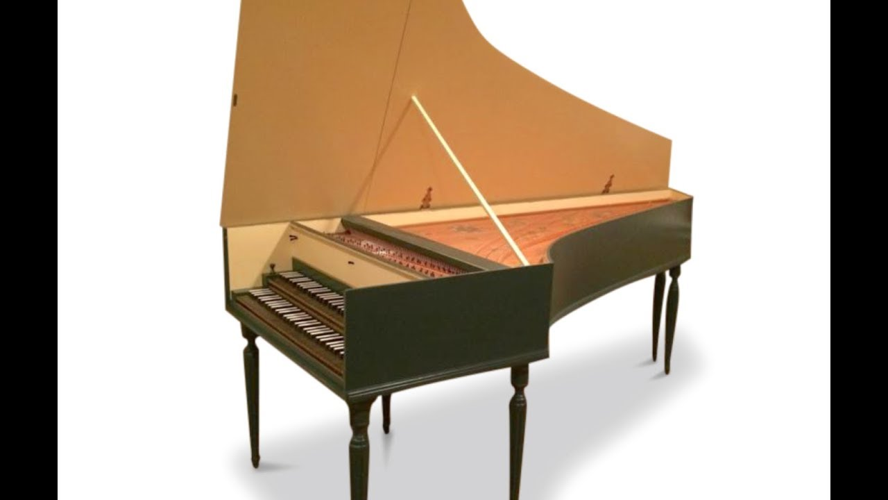 double manual harpsichord for sale