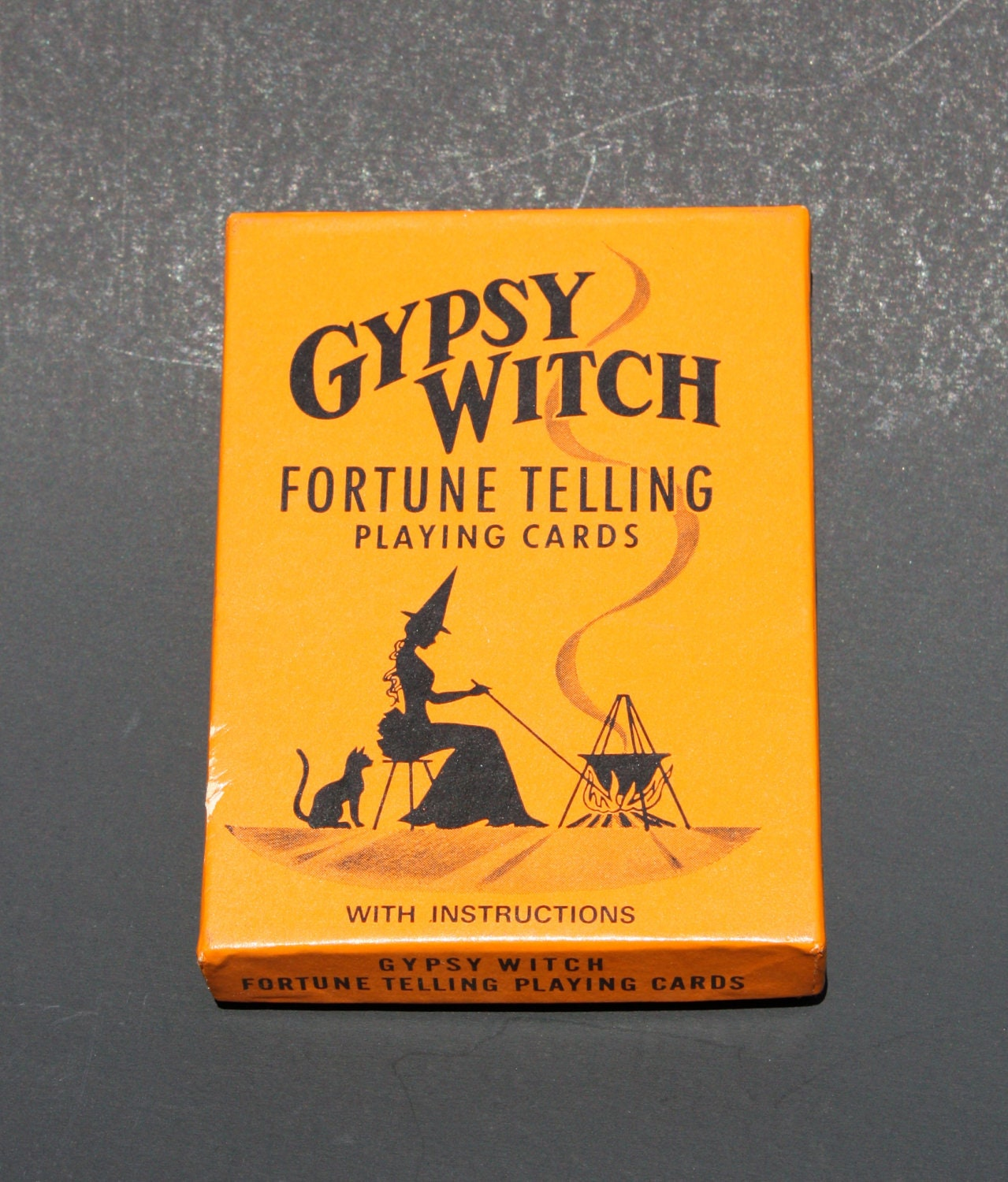 gypsy witch fortune telling cards instructions