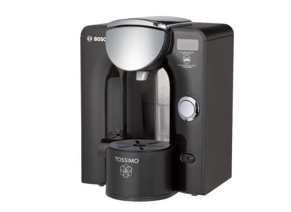 instruction for making coffee in a bosch coffee maker tassimo