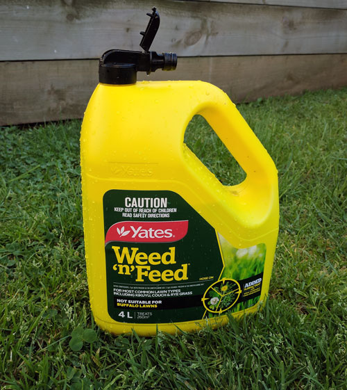 Yates weed and feed application