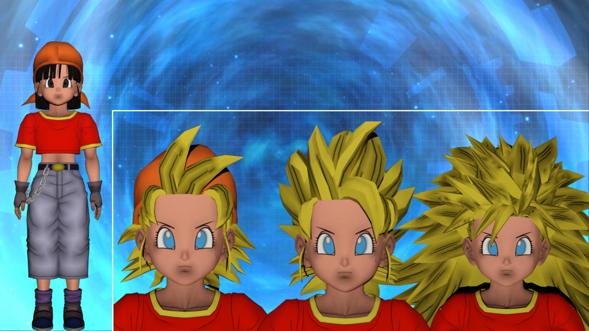 Xenoverse how to change character hair model
