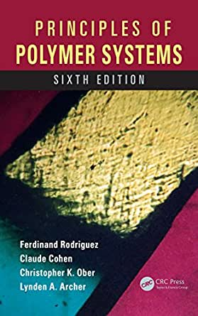 principles of polymer systems solution manual pdf
