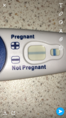 Clear blue pregnancy test instructions lines