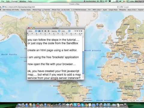 Javascript how to create a map