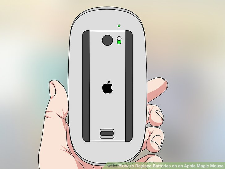 magic mouse battery replacement instructions