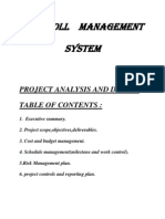 Payroll management system synopsis pdf